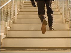 「階段ダッシュ」でフィットネスレベルを高めよう!