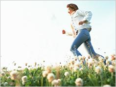 毎日1分、走るだけで女性の骨は強くなる!